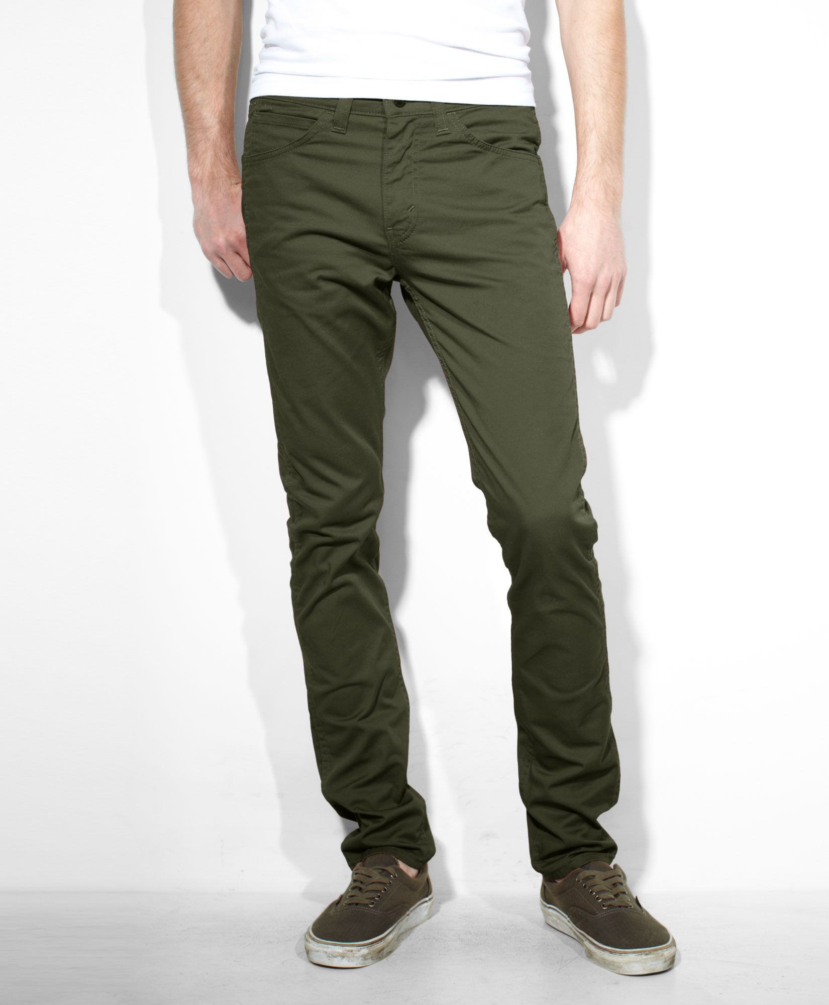 a9b51a65c Levi's 510™ Line 8 Pants - Forest Night | Wrinkled Clothes | Pants ...