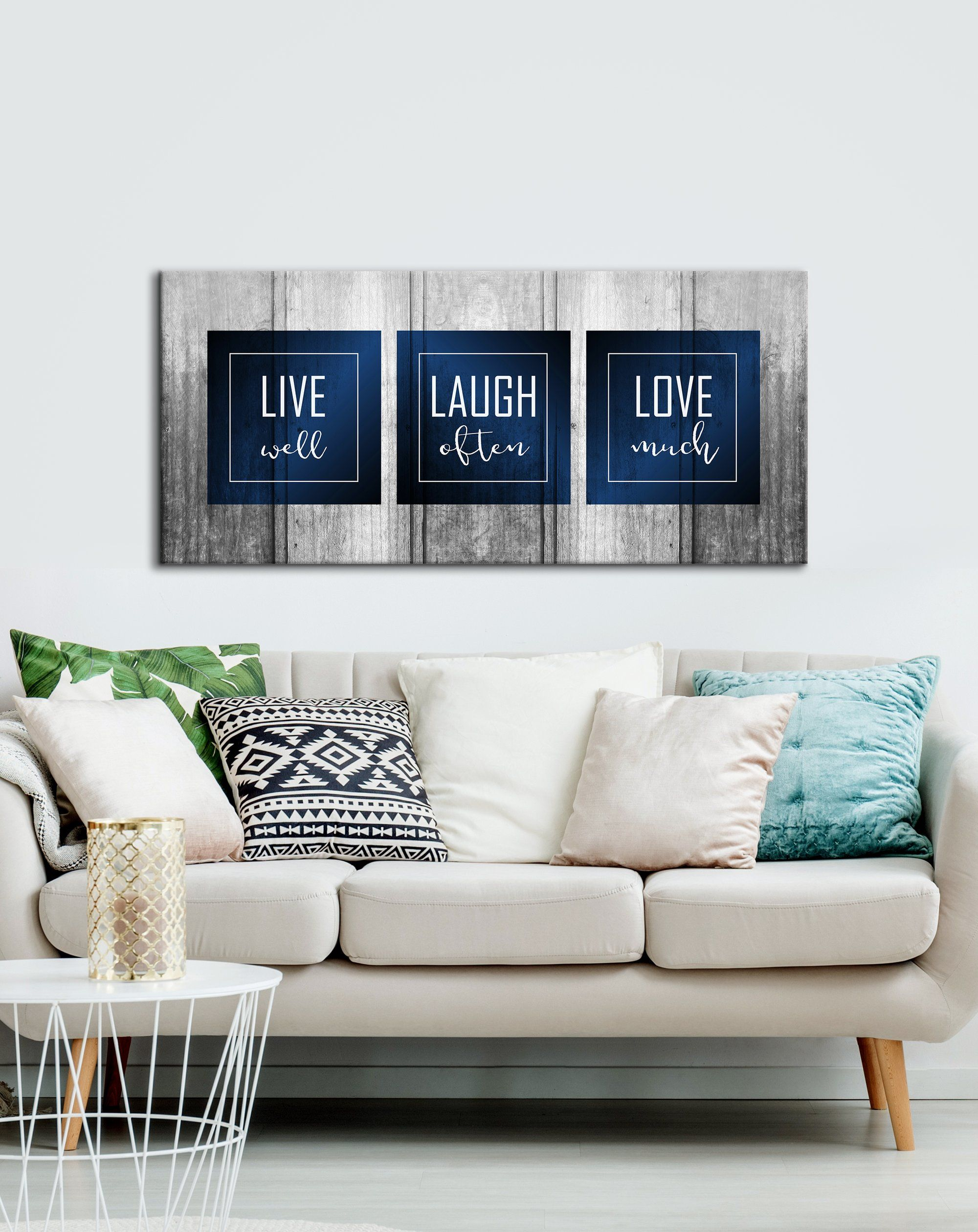 Bedroom Wall Art Live Laugh Love