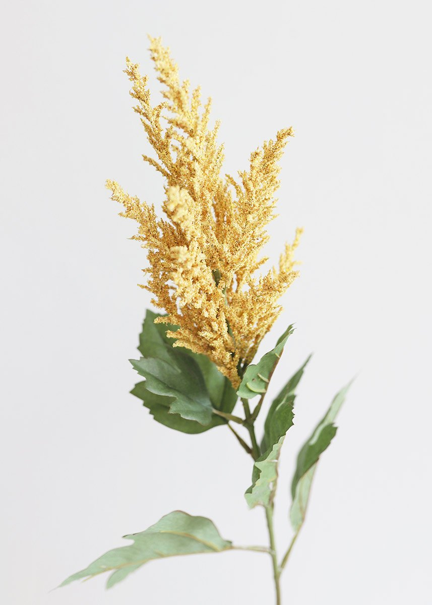 Astilbe In Mustard Yellow Artificial Fall Flowers Afloral Com In 2020 Yellow Flowers Silk Flowers Wedding Fall Flowers