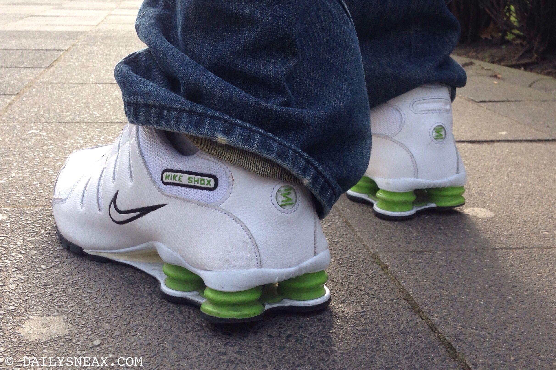 Nike Shox Nz Grey Green