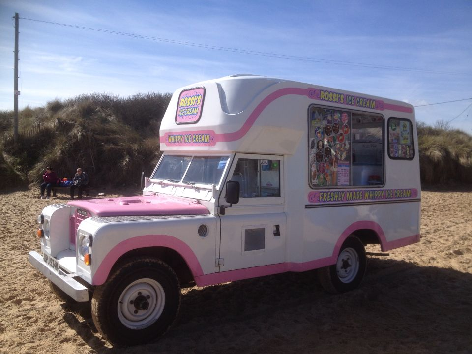 Series III Land Rover Ice Cream Van