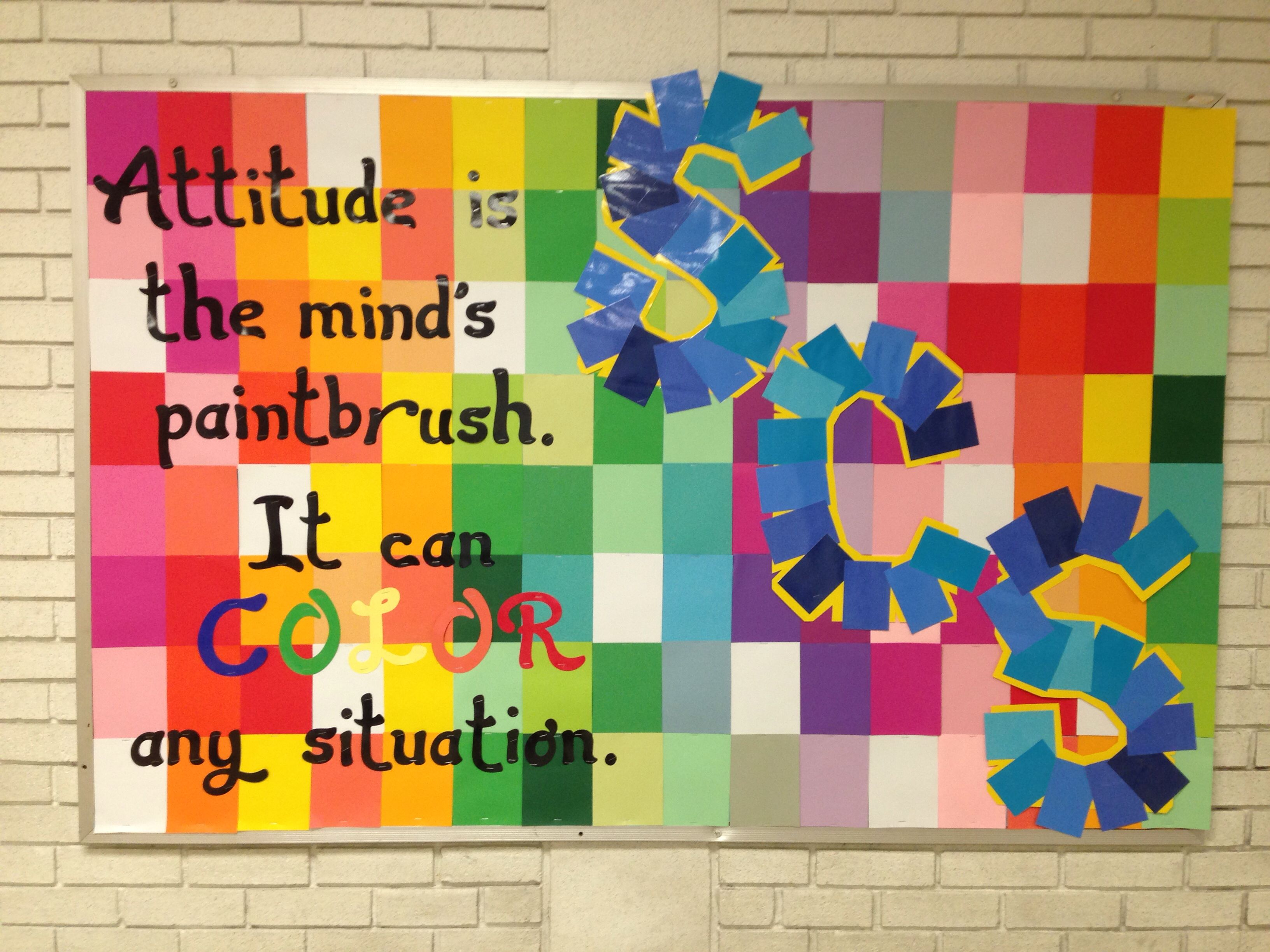 spring bulletin board ideas middle school counselor