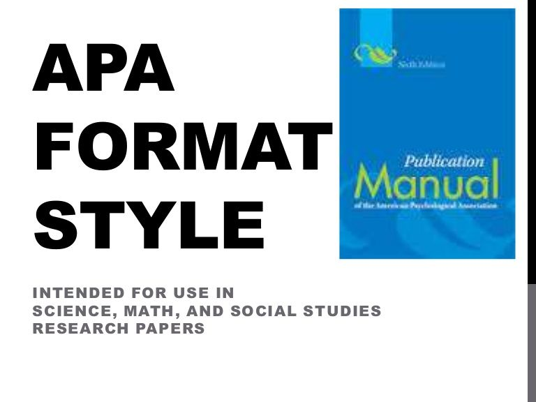 """science paper format mla or apa Science research paper format topic: it should be eye-catching depicting the main ideas of the research paper, a word of advice is not to include words like """"a brief guide to"""" or """"a study of"""" because it is understood that it's a research paper, say something that people don't know."""