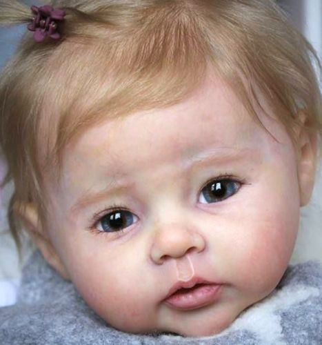 Detalles sobre D819 Lovely Reborn Baby Doll Child Friendly H 22 inch Tailor Made