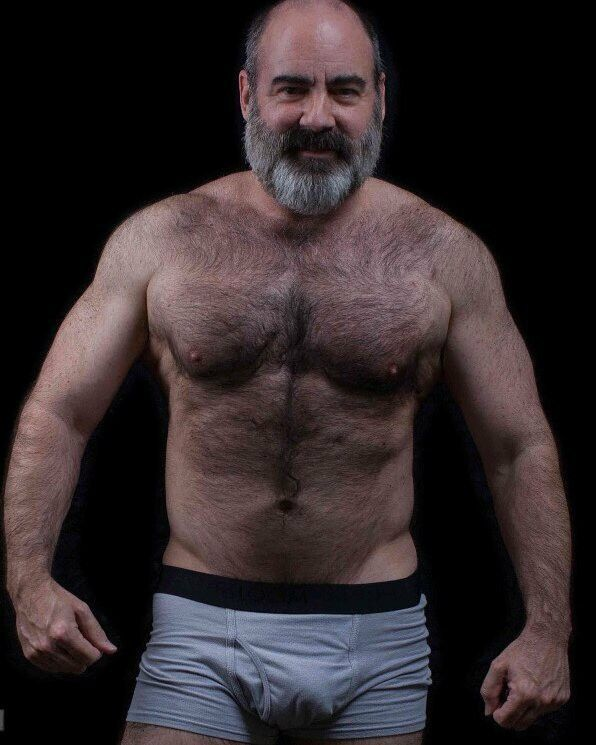 hairy older bear