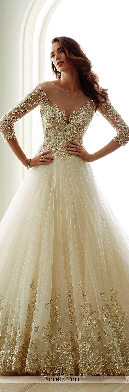 Lace wedding dress alineprincess square neckline tealength with