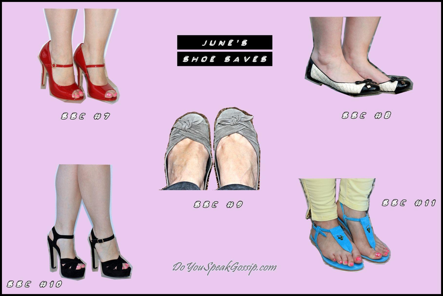 June's shoe saves - DoYouSpeakGossip.com