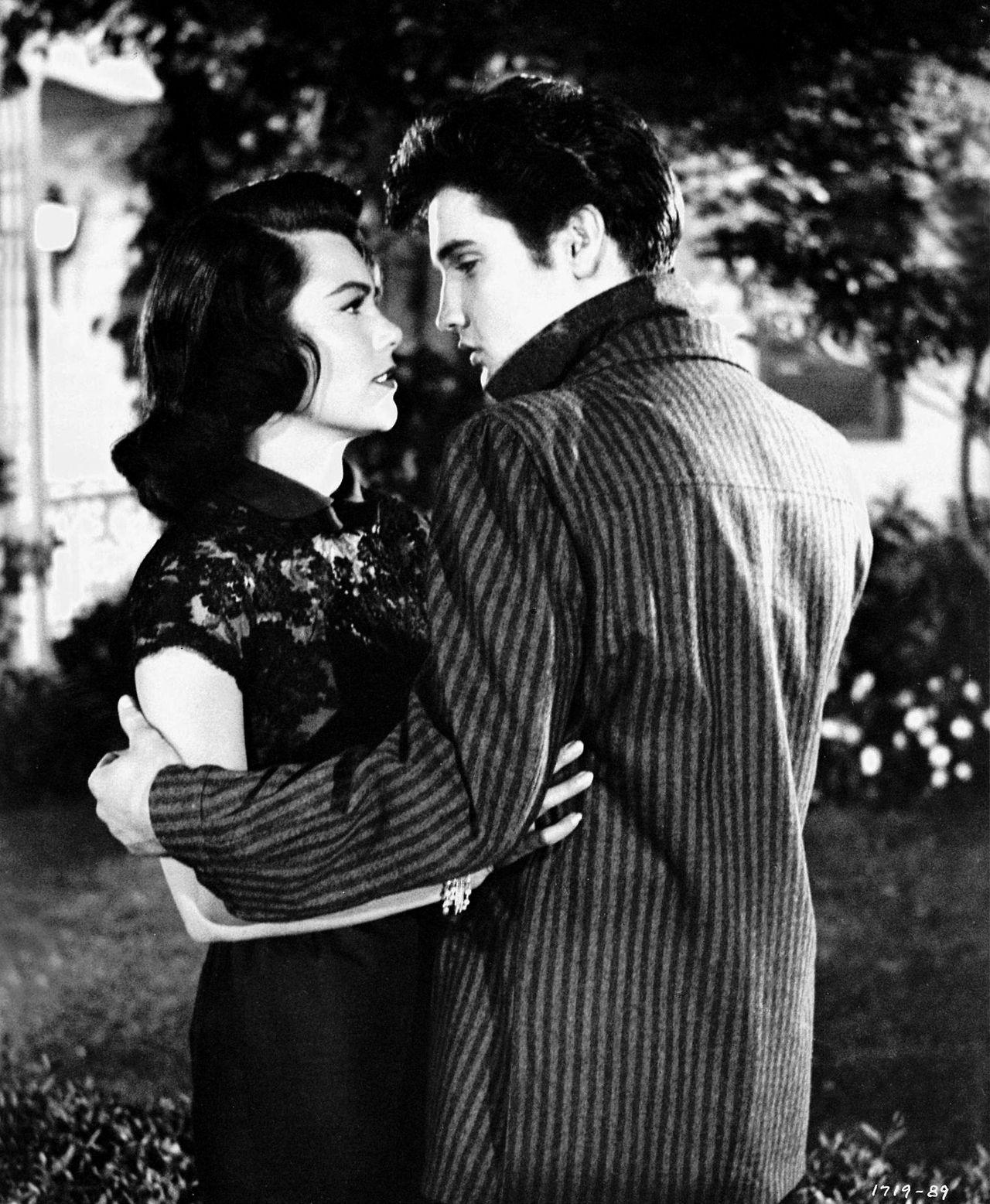 Judy Tyler & Elvis Presley Jailhouse Rock, 1957