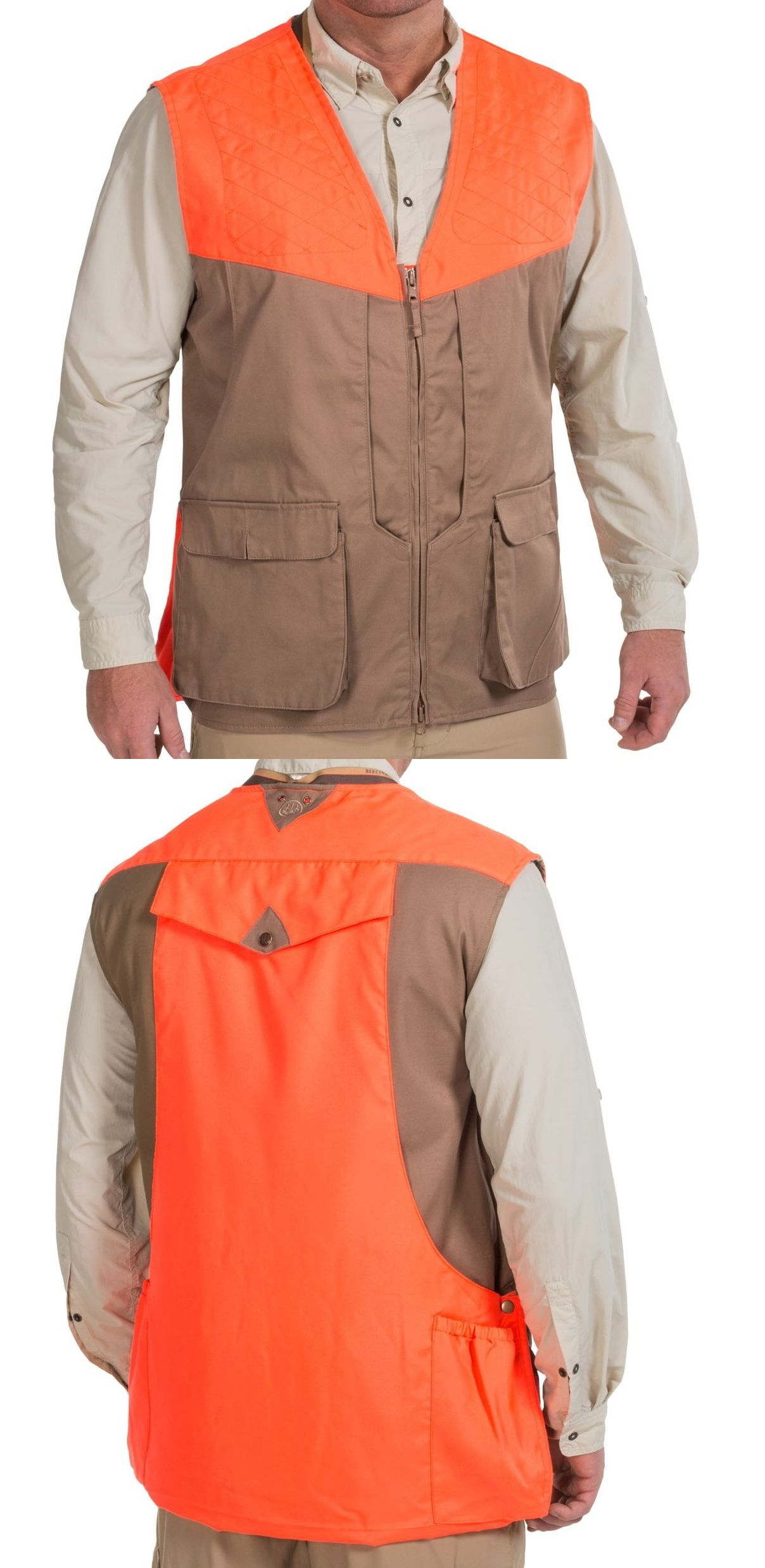 Vests 178080: Beretta Front-Loading Cotton Upland Shooting Vest - 2Xl - Water Repellent -> BUY IT NOW ONLY: $64.95 on eBay!