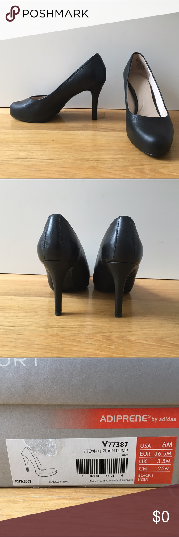 additional photos - Rockport seven to 7 pumps see previous listing. original box included. Shoes Heels