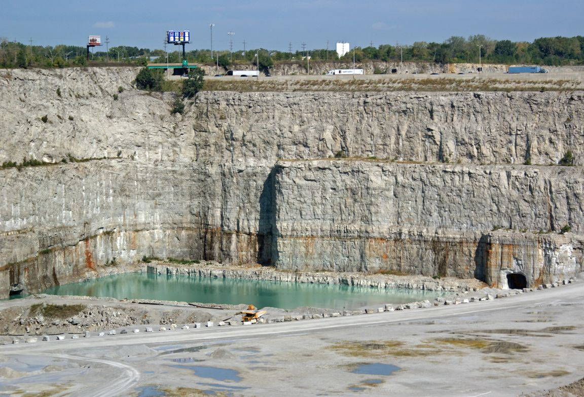 limestone quarry in illinois - Google Search   Geology