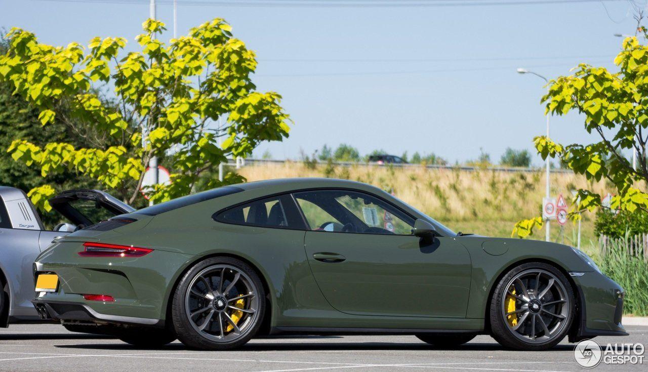 Black Olive Green 991 2 Gt3 Touring Porsche 991 Gt3 Gt3 Porsche