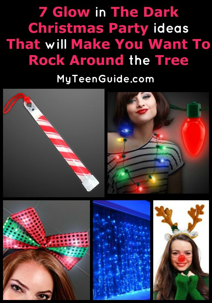 Friends Christmas Party Ideas Part - 46: 7 Glow In The Dark Christmas Party Ideas To Rock Around The Tree