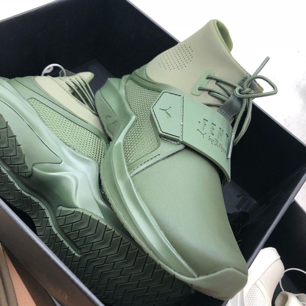 Puma Shoes | Size 10 Fenty By Rihanna | Color: GreenWhite