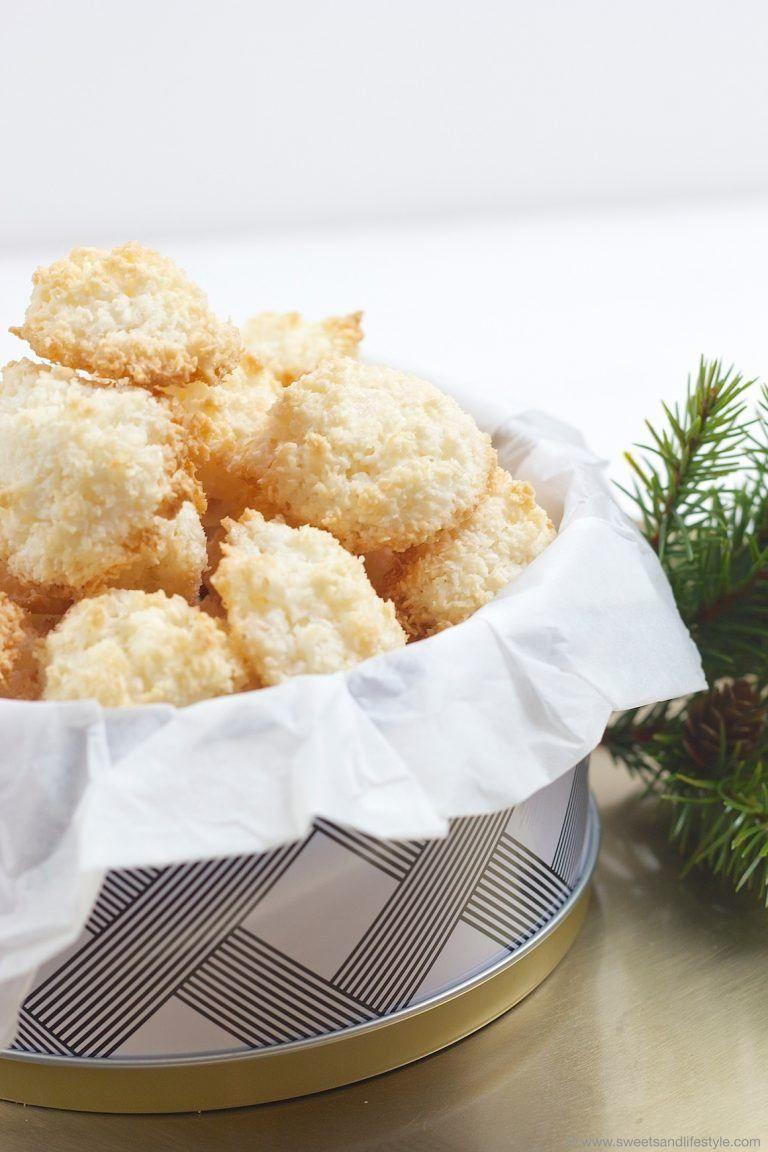 Kokosbusser Kokosmakronen Rezept Backen Pinterest Sweets