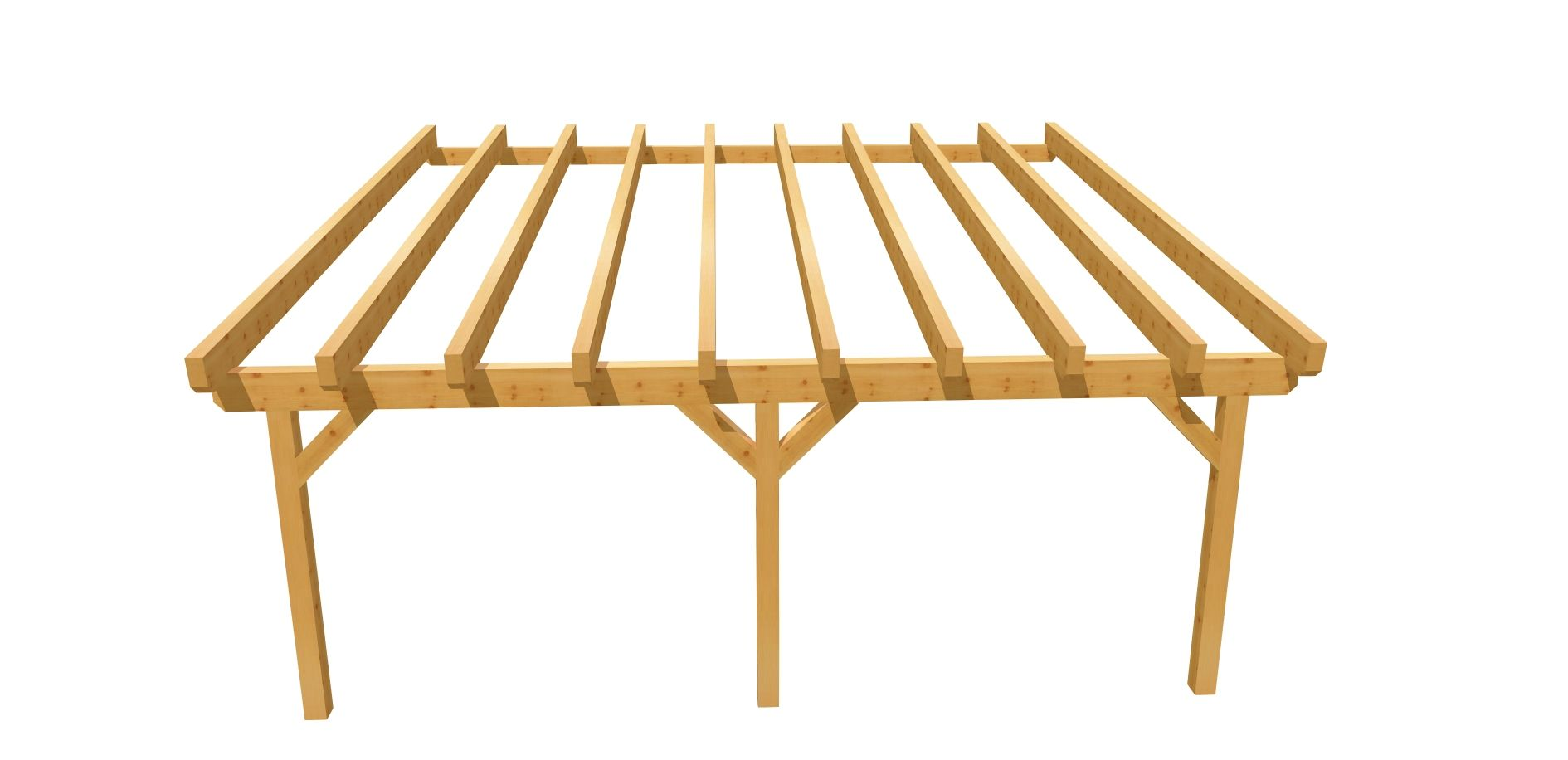 Carport Holz Bauplan 6m X 6m Carport Selber Bauen Holz Bauplan Carport Holz