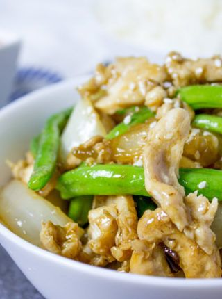 Panda express string bean chicken breast with onions cooked quickly panda express string bean chicken breast with onions cooked quickly in a wok in a light chinese mealschinese food recipesasian forumfinder Images
