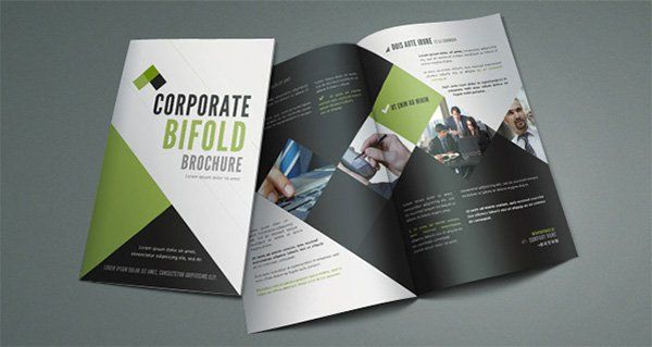 printable bi fold brochure 67 free word psd pdf eps indesign