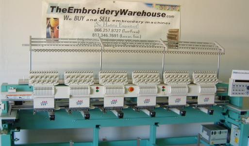 Used Embroidery Machines For Sale >> Theembroiderywarehouse Wants To Buy Your Used Tajima 6 Head