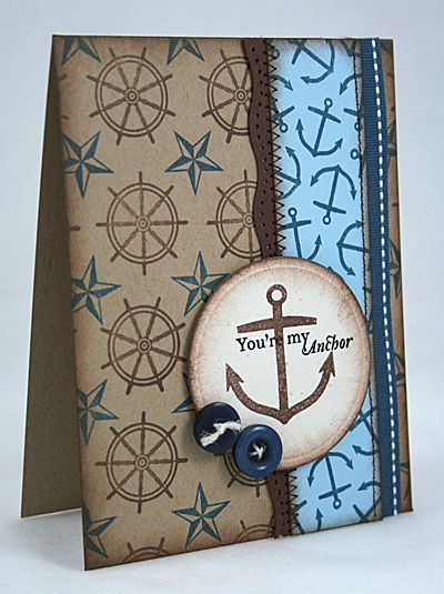 My Paper Creations: You're My Anchor
