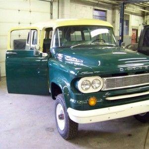 1960 Dodge Power Wagon Town Wagon Interior Seat Repair And Relocation Door Hinge Repair Full Exterior Body Cu Power Wagon Dodge Power Wagon Door Hinge Repair