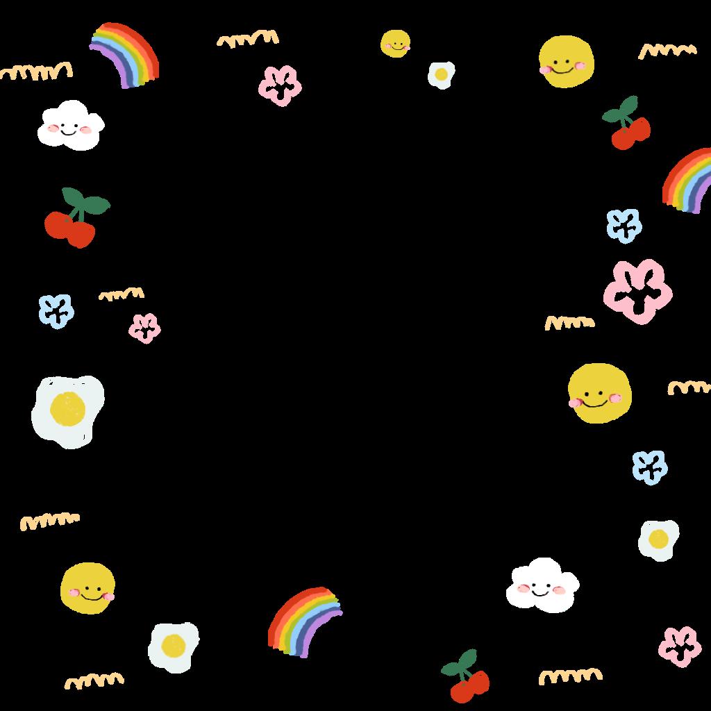 Freetoedit Tiny Frame Cute Soft Sticker By Puppykim Desain Pamflet Seni Buku Pengeditan Foto