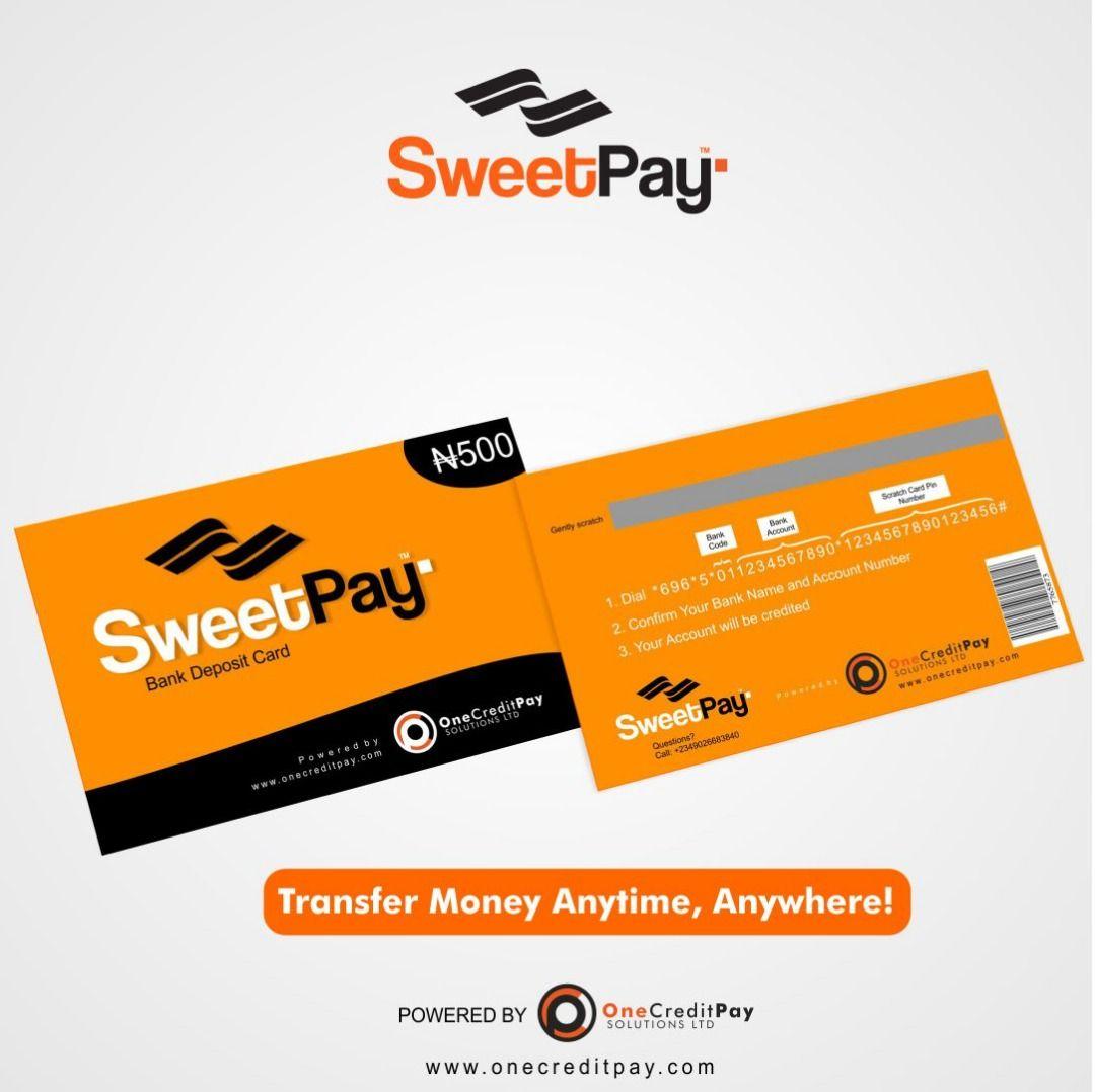 sweet pay 500 naira bank deposit card Bank deposit