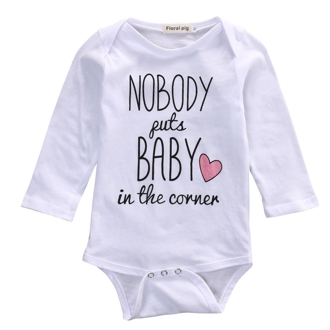 9453da6ef Click to Buy    2017 Brand Baby Bodysuits Spring summer Babies ...