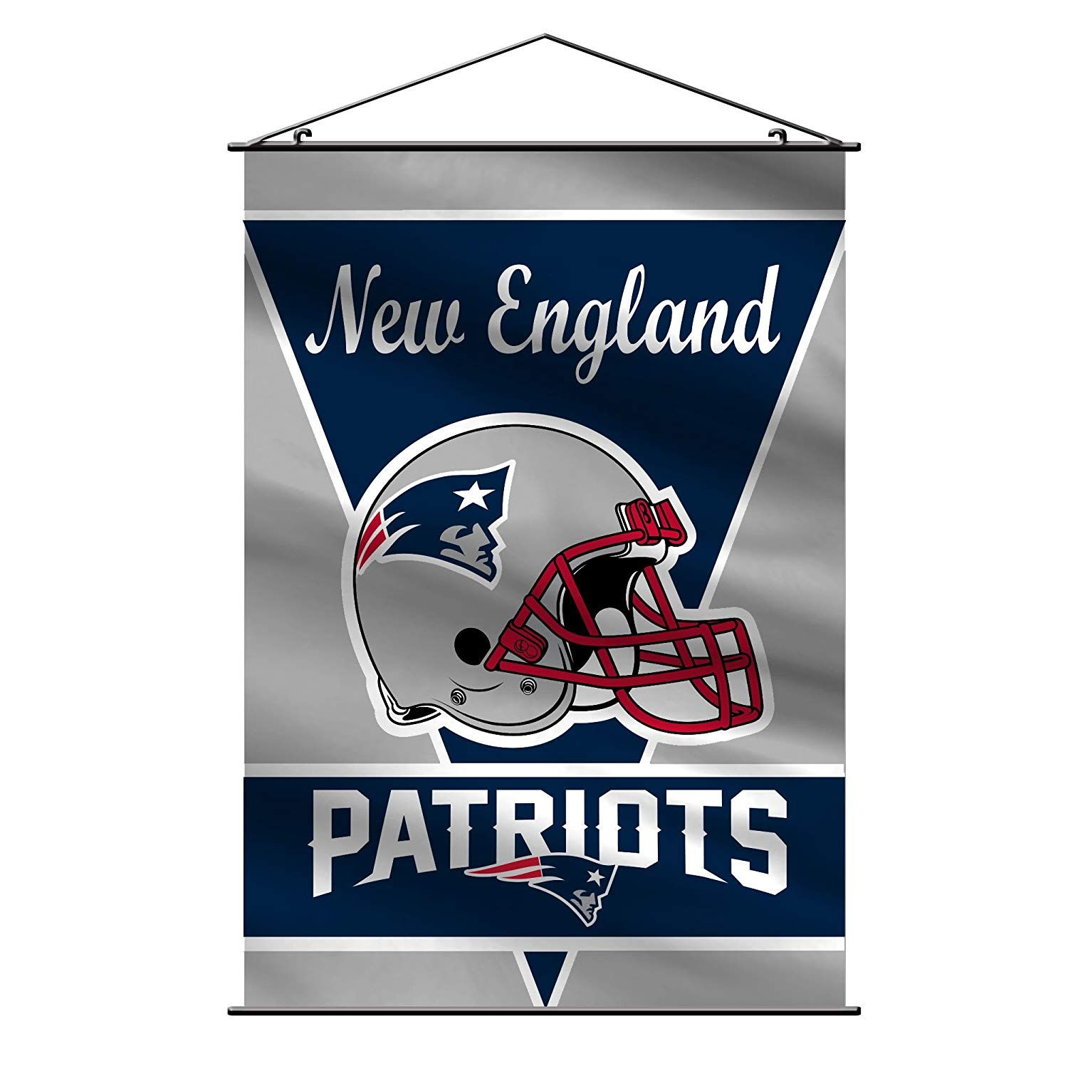 Nfl Products New England Patriots Banner New England Patriots Indoor Banner New England Patriots Colors
