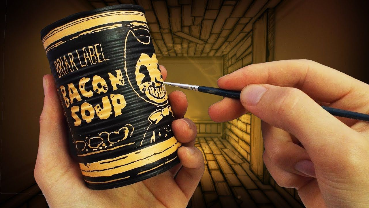 Making Bacon Soup From Bendy And The Ink Machine Chapter 3 With