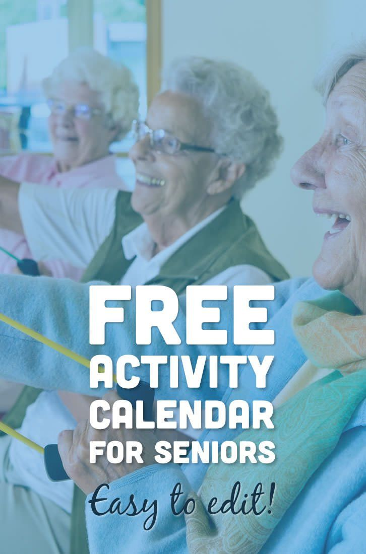 This easy to edit activity calendar is pre-filled with upcoming events and celebration ideas for nursing homes and assisted living facilities. A perfect resourc