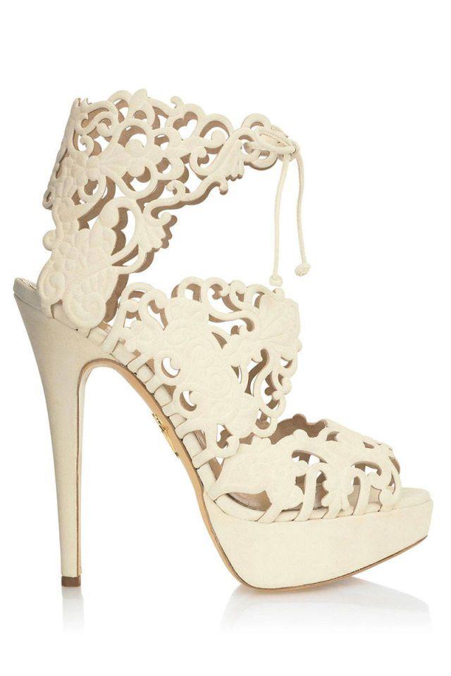 Eye Candy: 10 Extravagant Heels for Spring  - HarpersBAZAAR.com