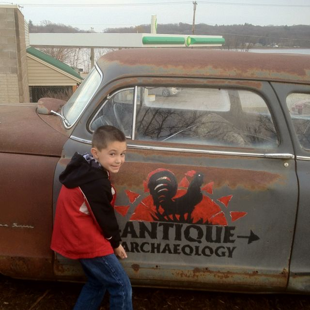 Josh @ Antique Archeology