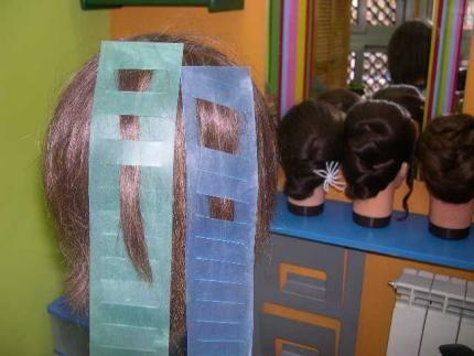 Foros PELUQUERIA: Mechas efecto cebra... o bloques