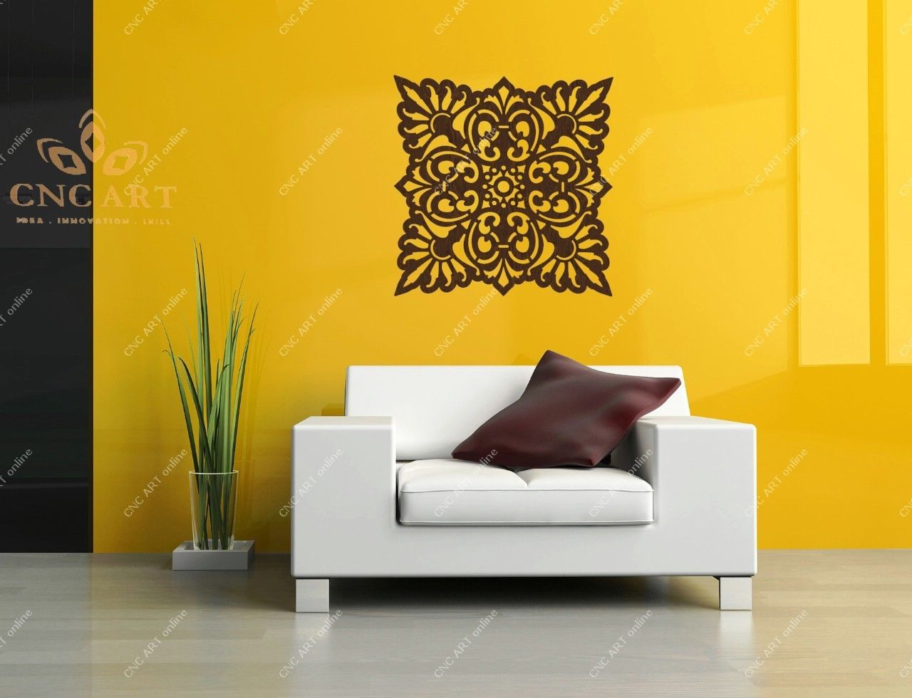 Wall decoration DXF CDR and EPS File For CNC Plasma, Router | Wall ...