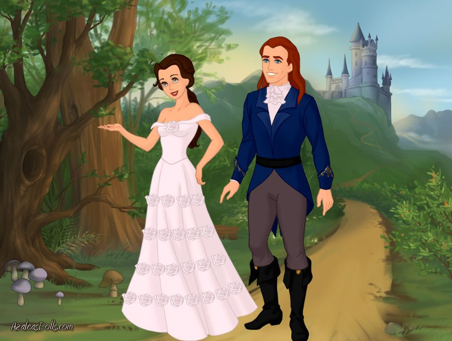 Belle And Prince Adams Wedding Day