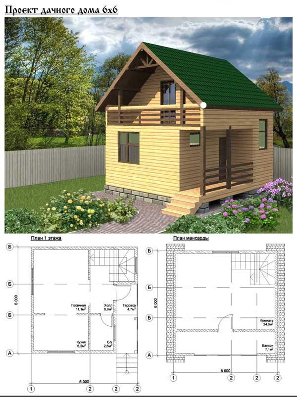 Каркасные дома для дачи: видео-инструкция по монтажу ...