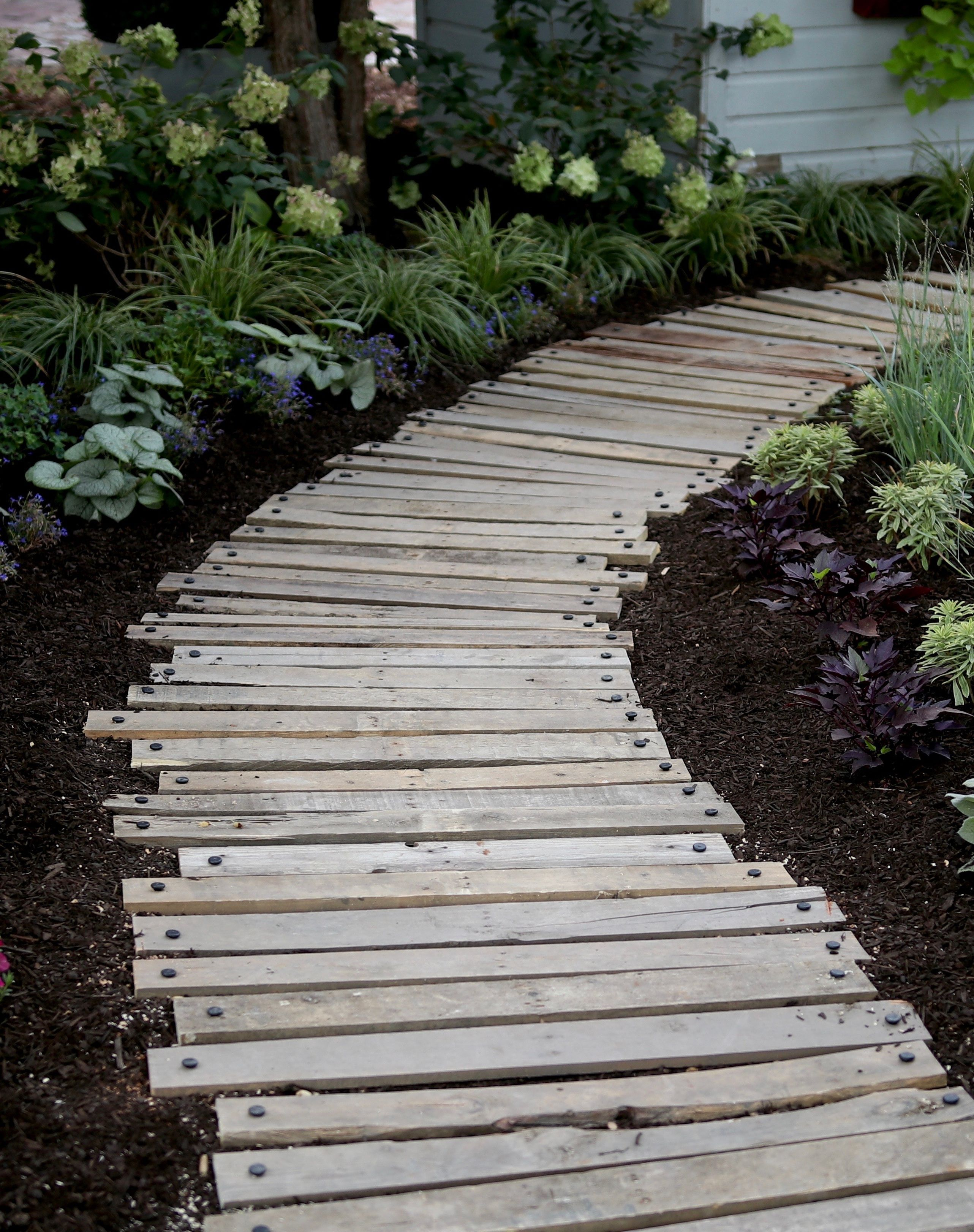 Watch and learn how to repurpose old pallets into a sweet ...