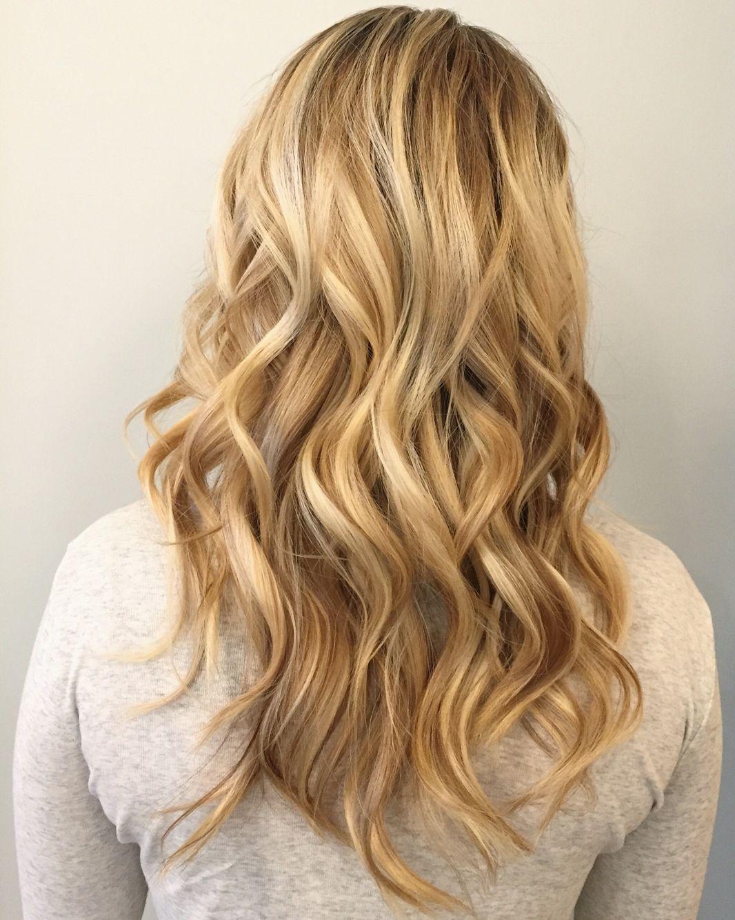 By Hollylikeshair In Portland Or At Blueprint Modern Hair Long Hair Beach Waves Balayage Blonde Highlights Modern Hairstyles Hair Styles Hair