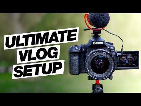 The Ultimate Canon 90D Vlog Setup! (Best Wide Angle Lens, Shotgun Mic, Tripod) #wideangle