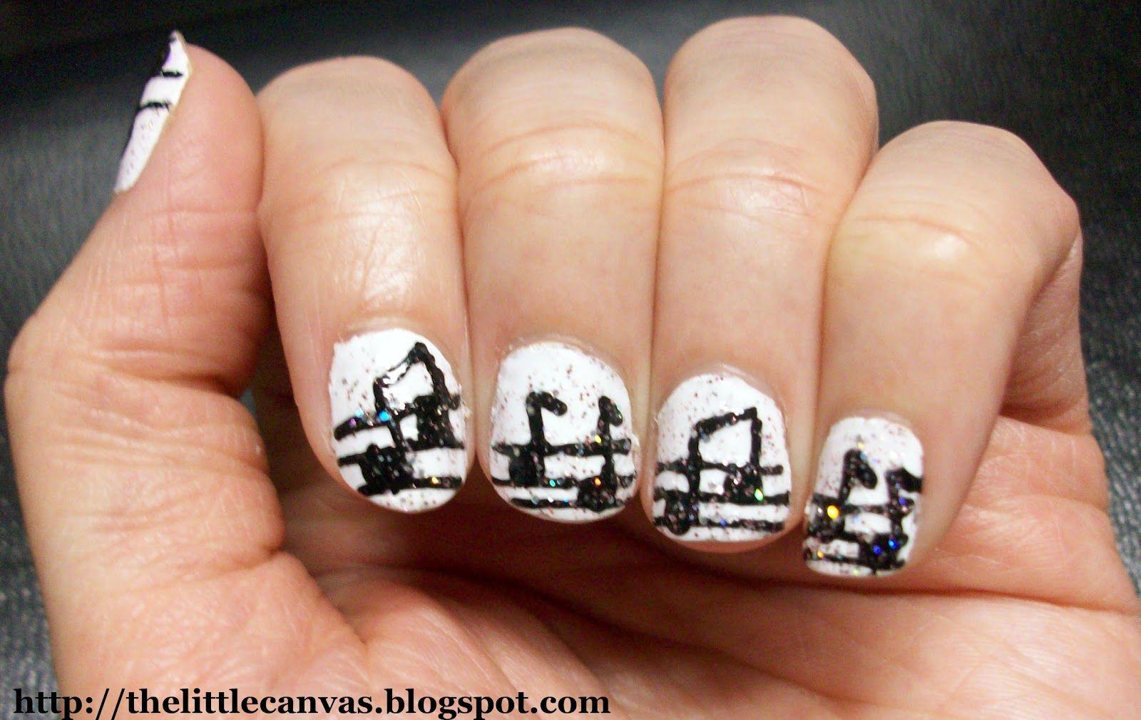 music nails | Music Note Nails