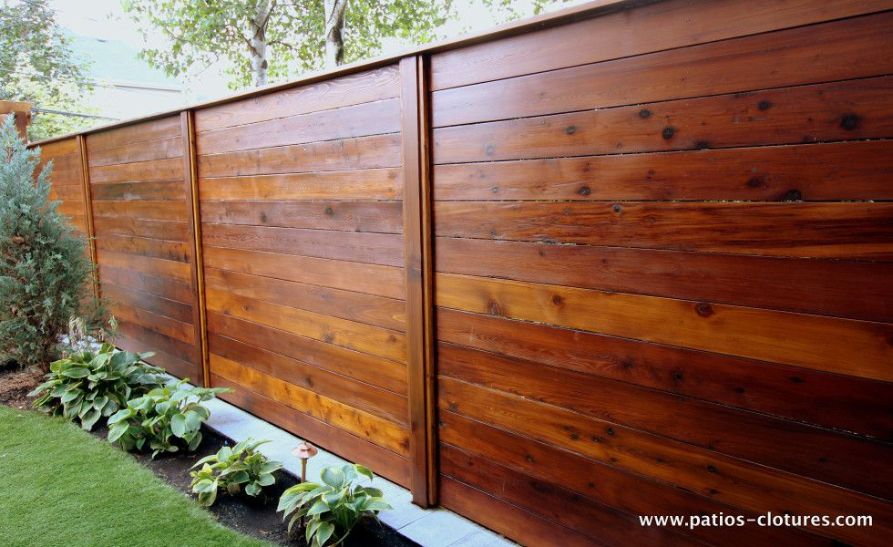 Fence horizontal fence emond 2 how to build a horizontal for Horizontal house plans