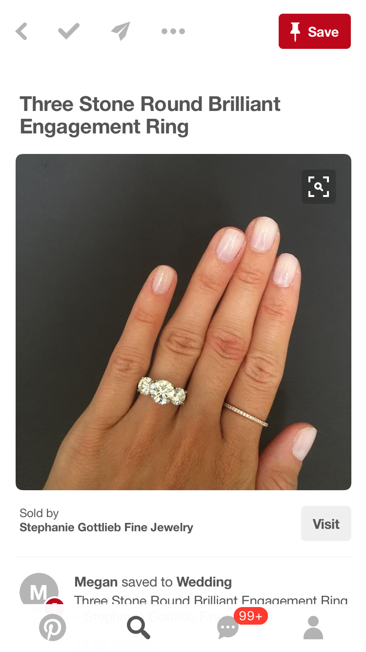 10 Year Anniversary 2019 Round Brilliant Engagement Ring Things To Sell Fine Jewelry