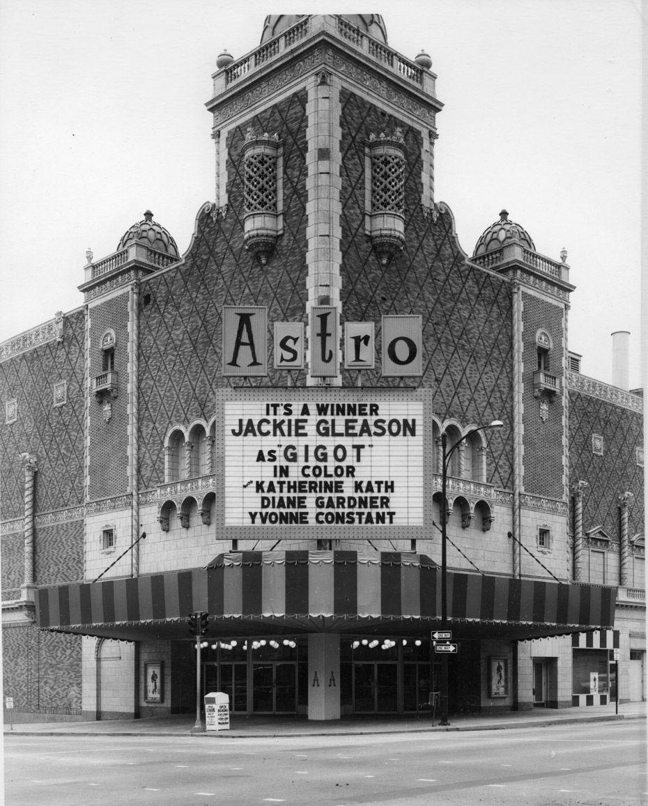 The Astro Theater In Omaha In 1962 The World Herald Omaha Nebraska Nebraska History