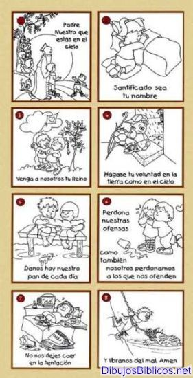 Padrenuestro_rBFVc_wtm.jpg | dibujos catequesis | Pinterest ...