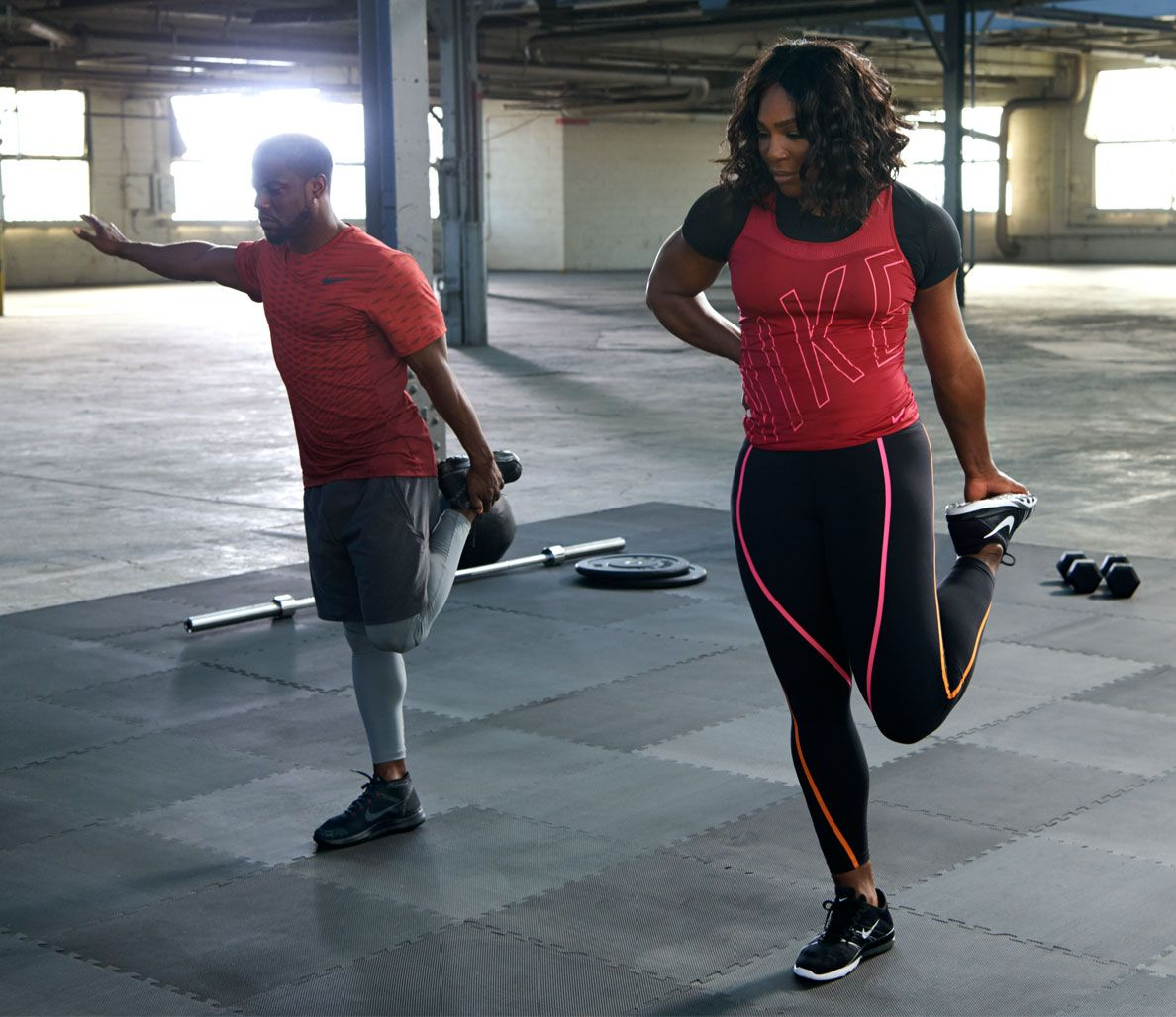 Kevin Hart and Serena Williams Duke it Out in New Nike
