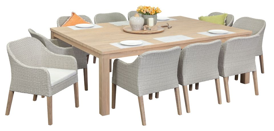 Richmond 10 Seater, Outdoor Dining Furniture, Outdoor Dining Settings, Outdoor  Dining Table And