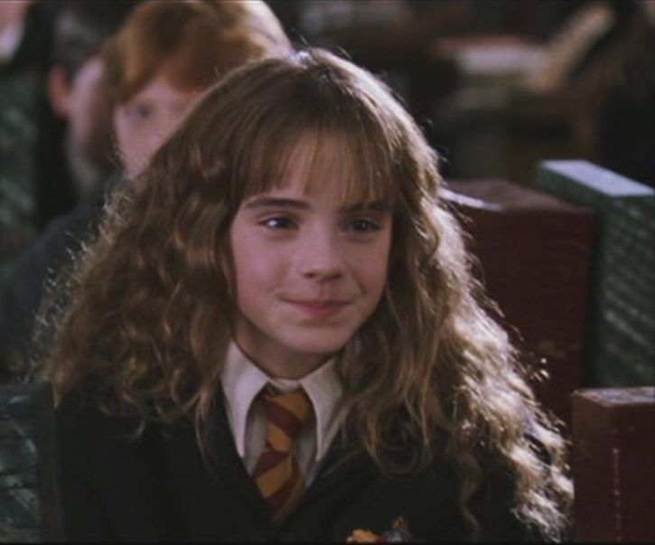 Emma In Harry Potter And The Chamber Of Secrets Hermione Granger Kids Harry Potter Films Hermione Granger