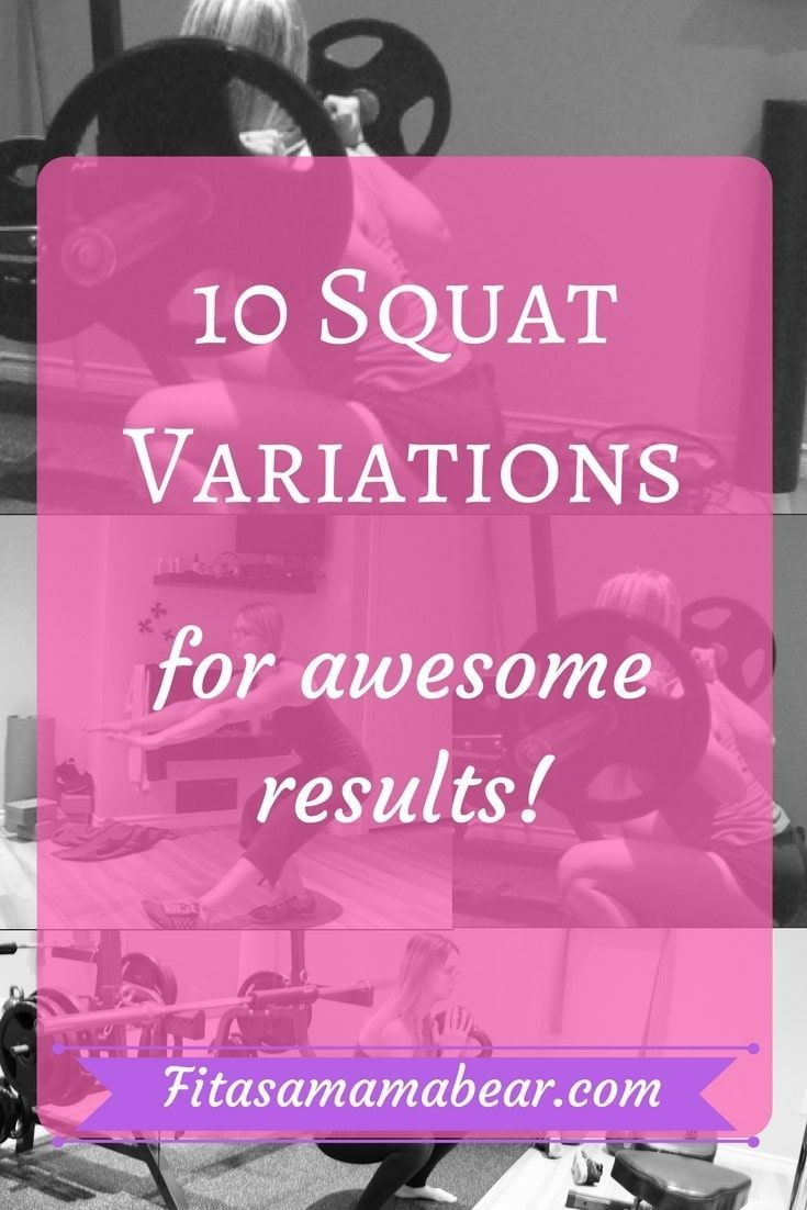 Squat variations, fitness goals, results, exercise, health, workout, training, strength, strong, fun...