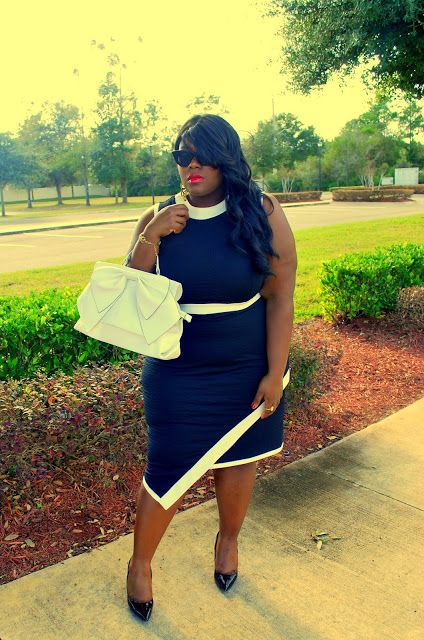 Musings of a Curvy Lady: noir et blanc